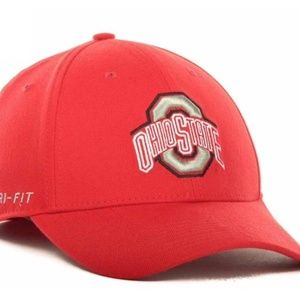 Ohio State Buckeyes Drifit SWOOSHFLEX M/L OSFM Cap
